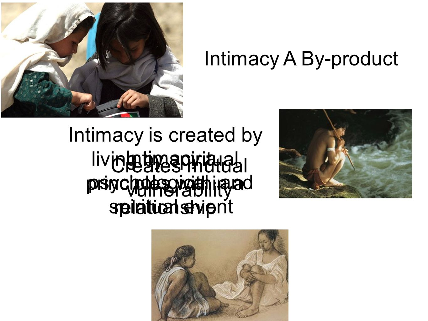 Intimacy a psychological and spiritual event