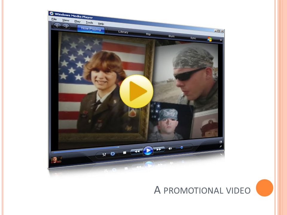 A promotional video