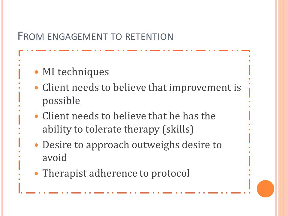 From engagement to retention