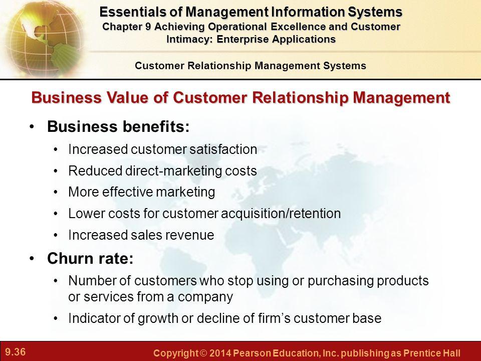 Business Value of Customer Relationship Management