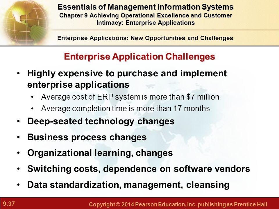 Enterprise Application Challenges