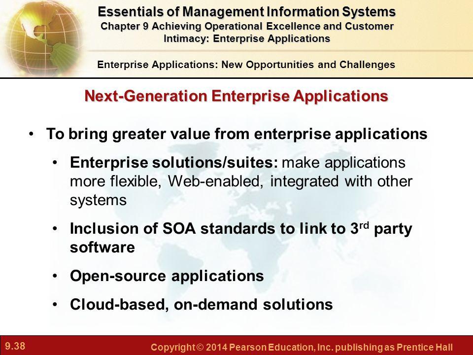 Next-Generation Enterprise Applications
