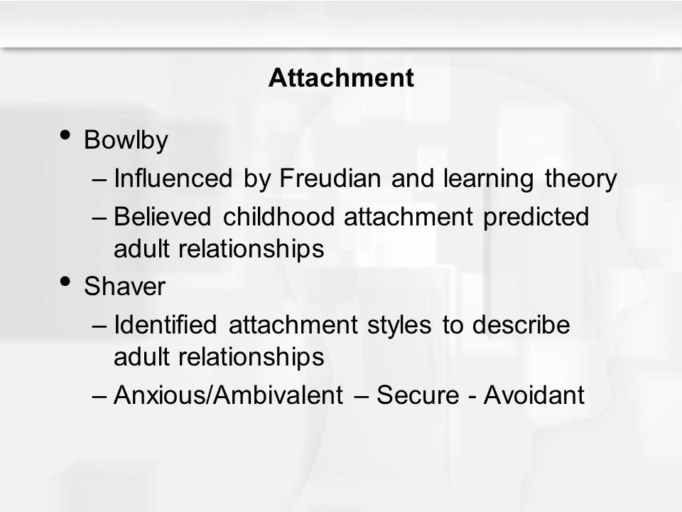 Influenced by Freudian and learning theory