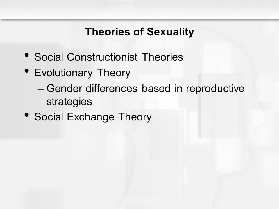 Social Constructionist Theories Evolutionary Theory