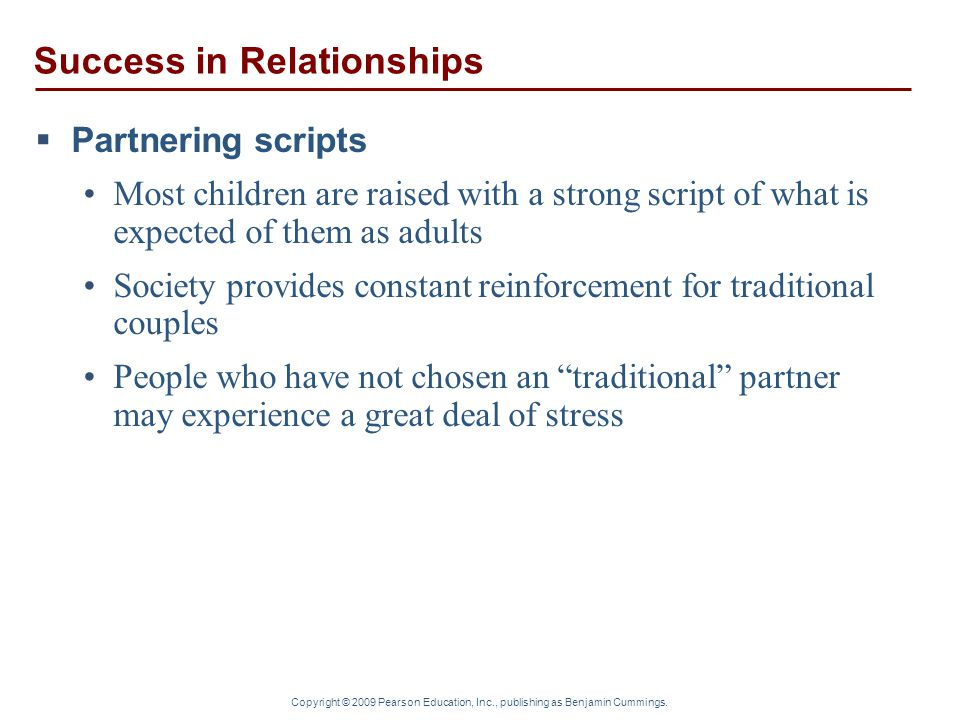 Success in Relationships