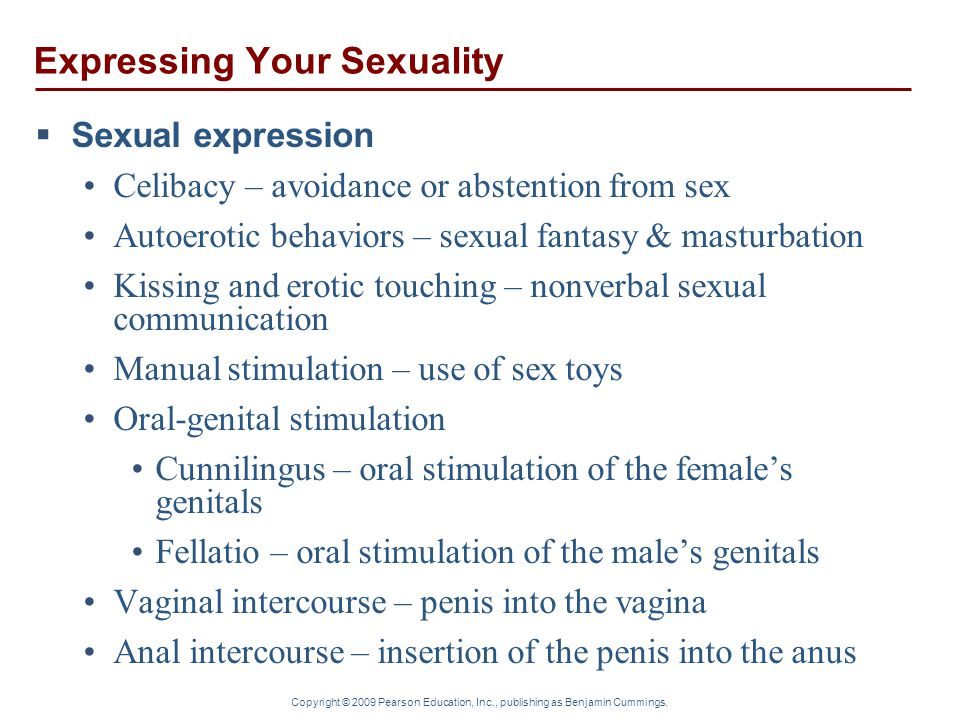 Expressing Your Sexuality