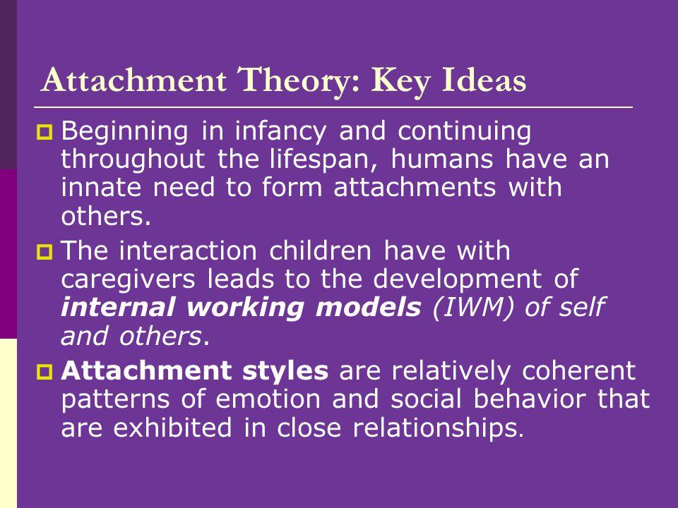 Attachment Theory: Key Ideas