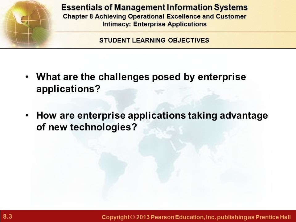 What are the challenges posed by enterprise applications