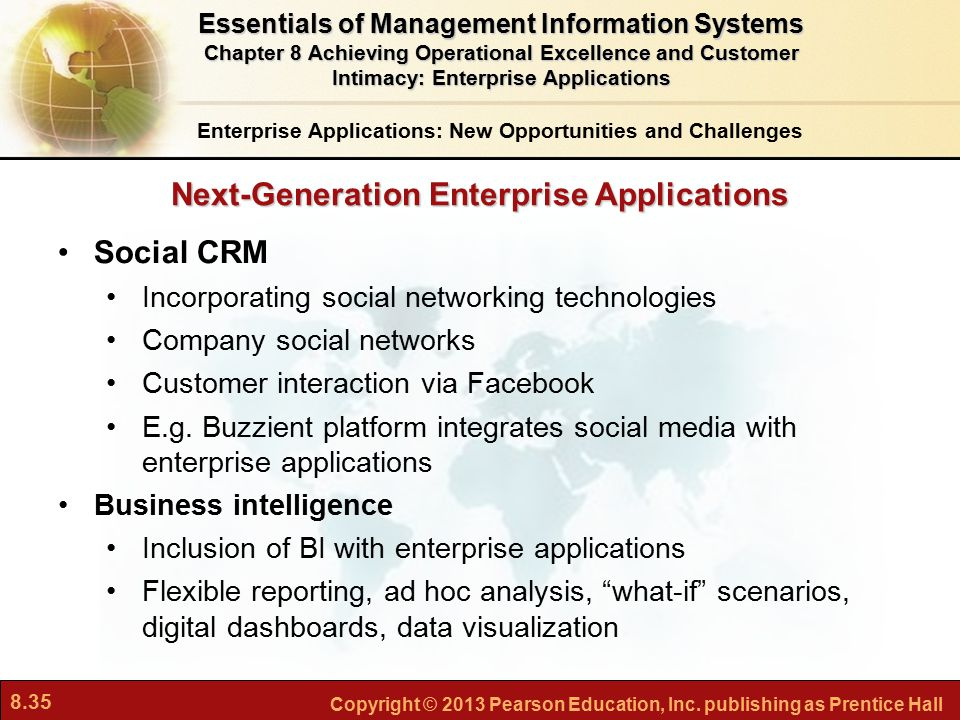 Next-Generation Enterprise Applications