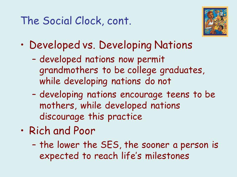 Developed vs. Developing Nations