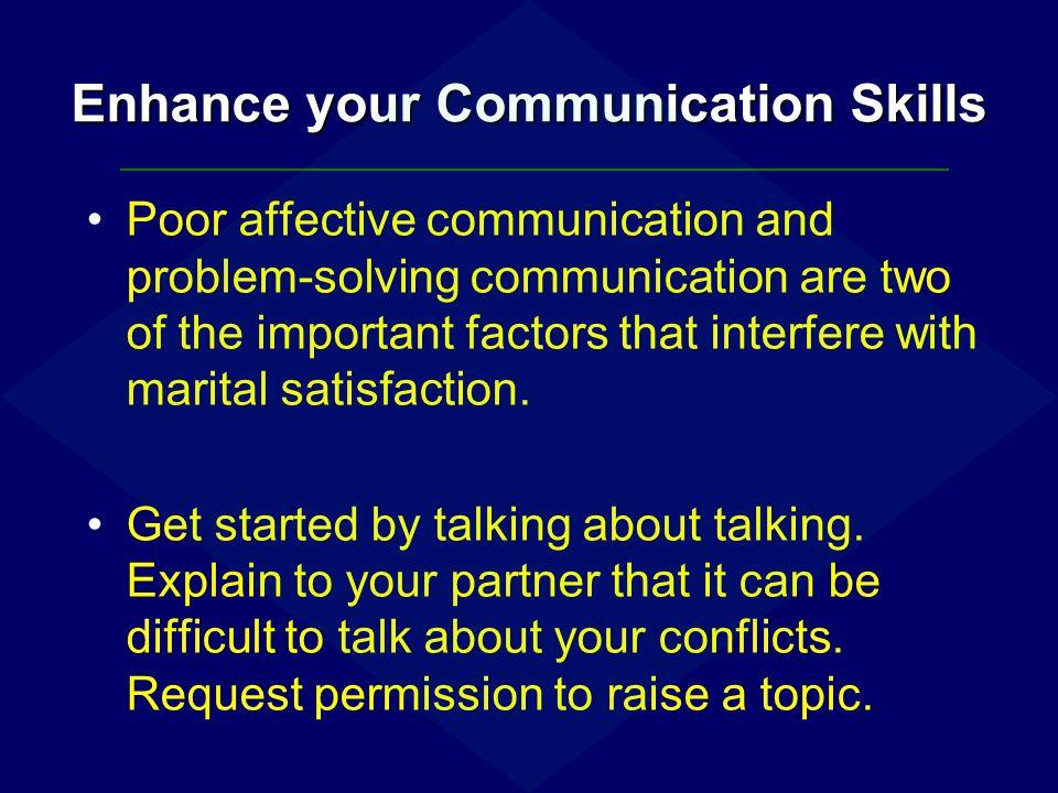 Enhance your Communication Skills