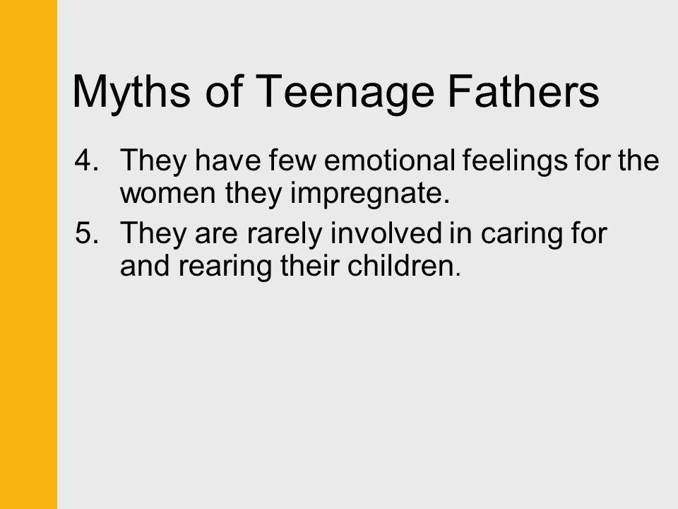 Myths of Teenage Fathers