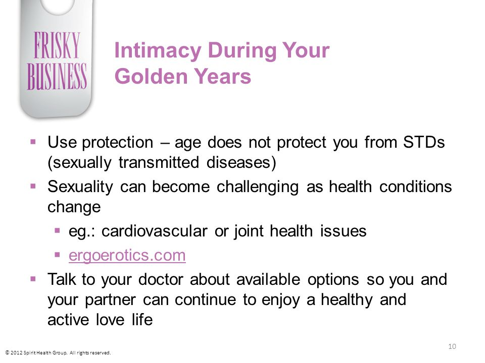Intimacy During Your Golden Years
