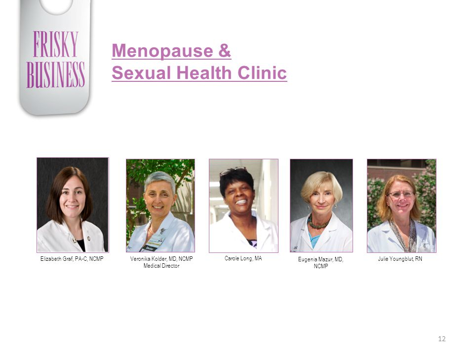 Menopause & Sexual Health Clinic