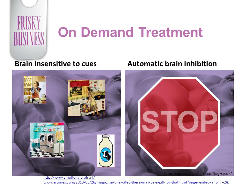 STOP On Demand Treatment Brain insensitive to cues