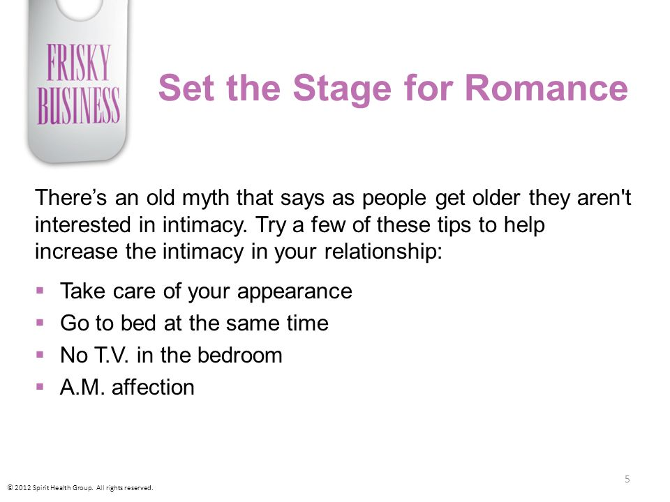 Set the Stage for Romance