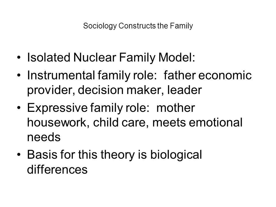 mother child relationship theory leadership