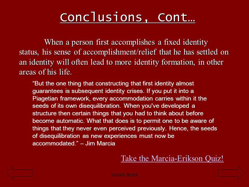 Conclusions, Cont…