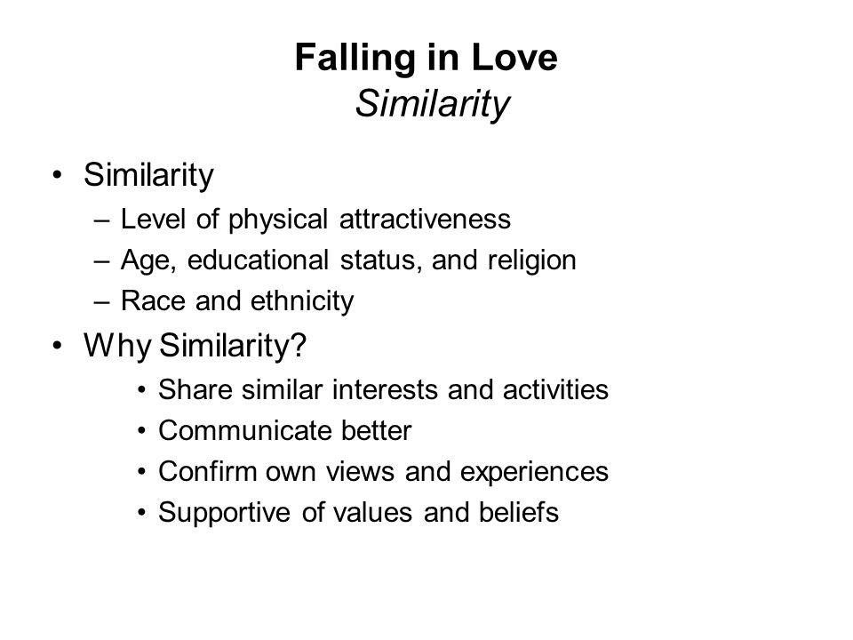 Falling in Love Similarity