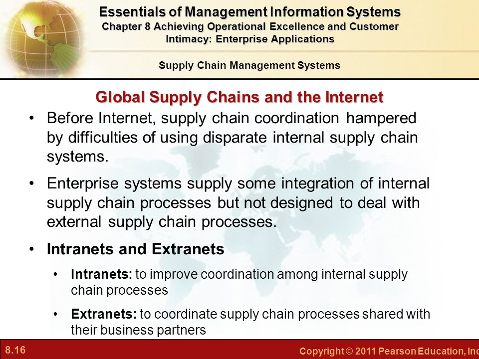 Global Supply Chains and the Internet