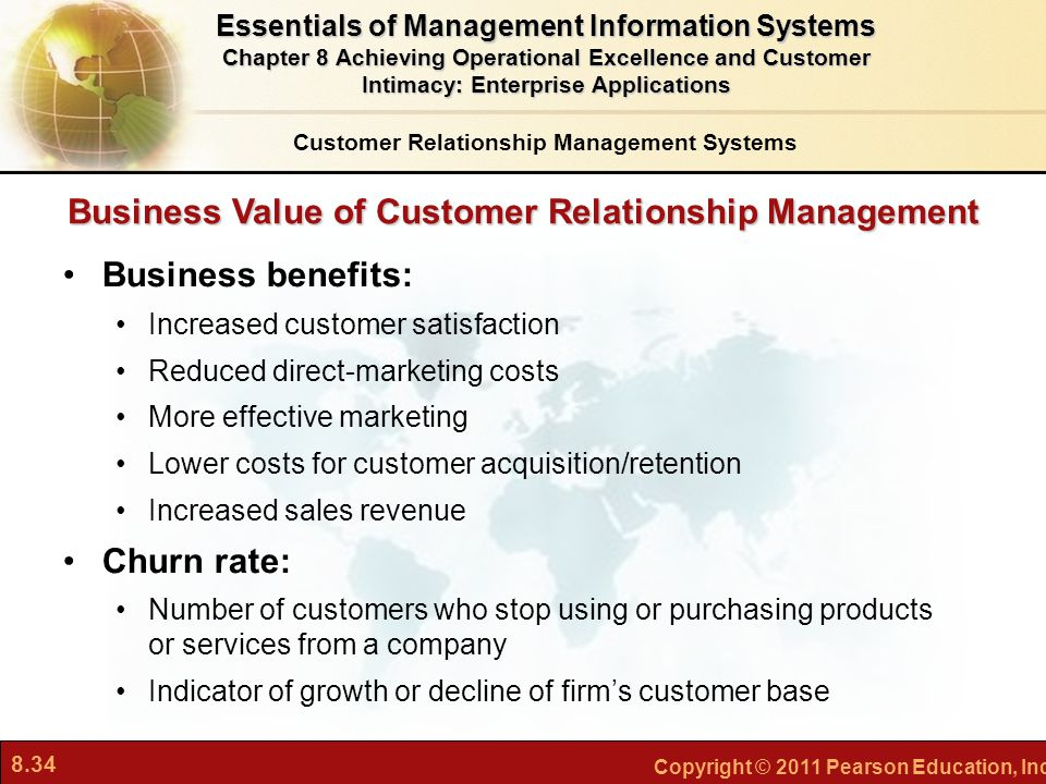 Business Value of Customer Relationship Management