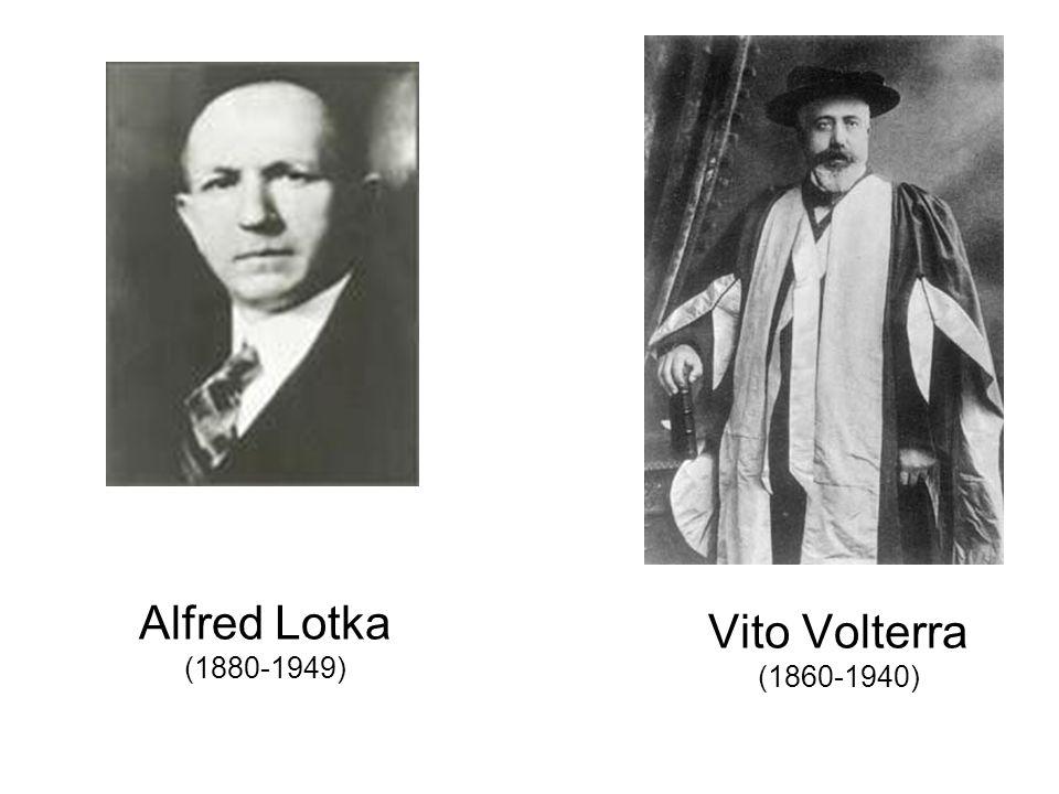 Alfred Lotka (1880-1949) Vito Volterra (1860-1940)