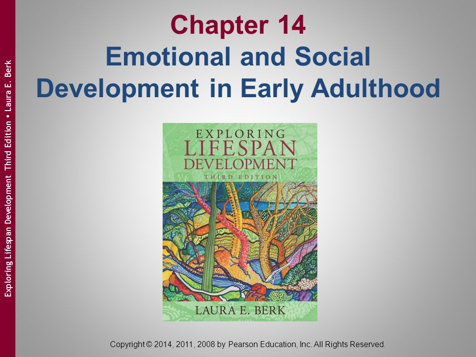 Chapter 14 Emotional and Social Development in Early Adulthood