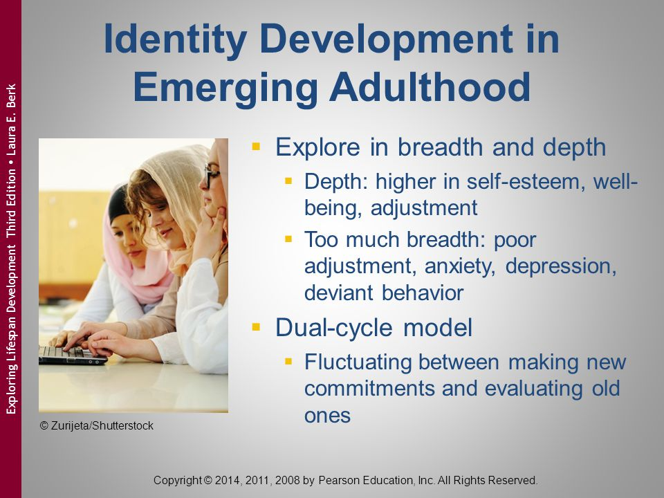 Identity Development in Emerging Adulthood