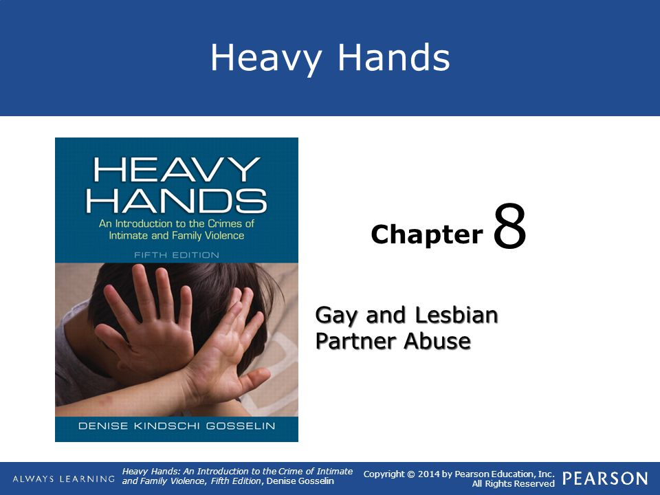 8 Gay and Lesbian Partner Abuse