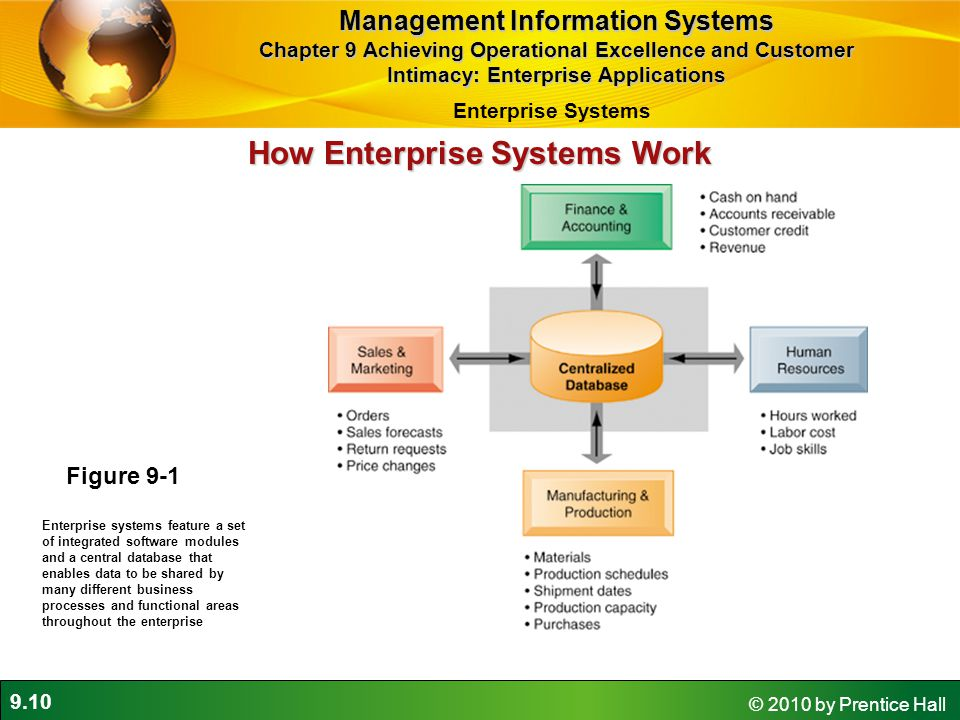 Management Information Systems How Enterprise Systems Work