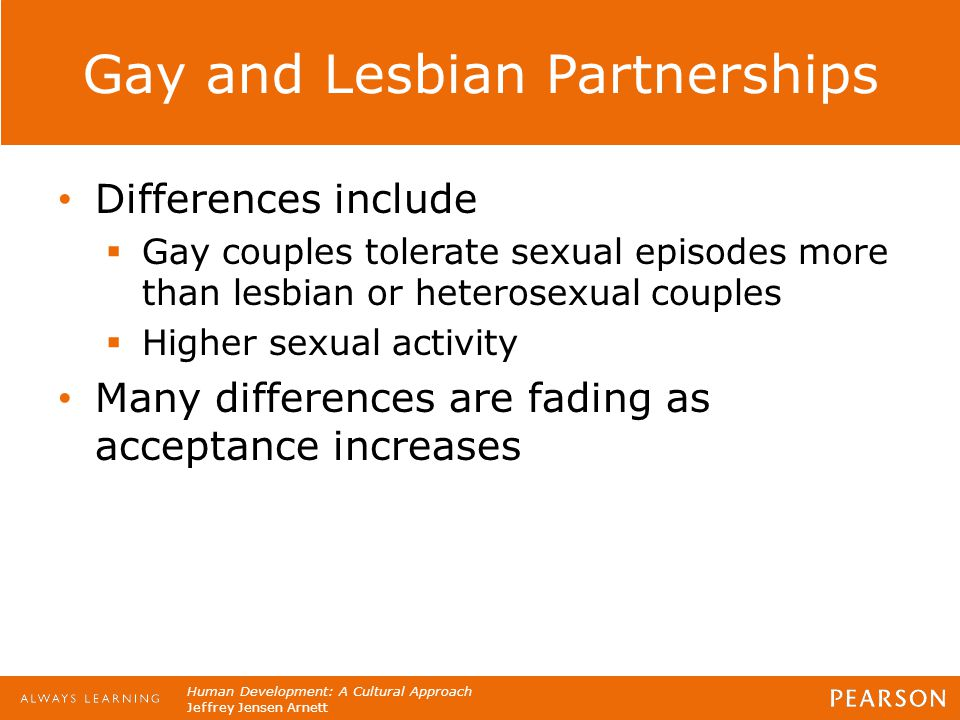 Gay and Lesbian Partnerships