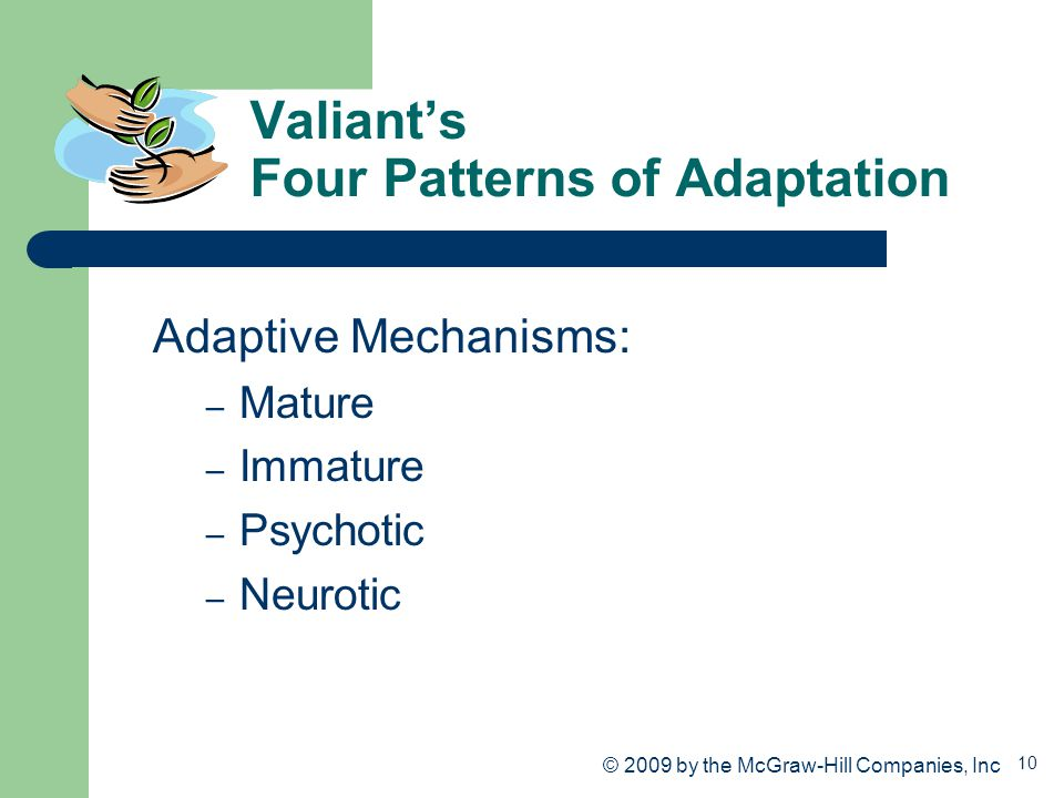 Valiant's Four Patterns of Adaptation
