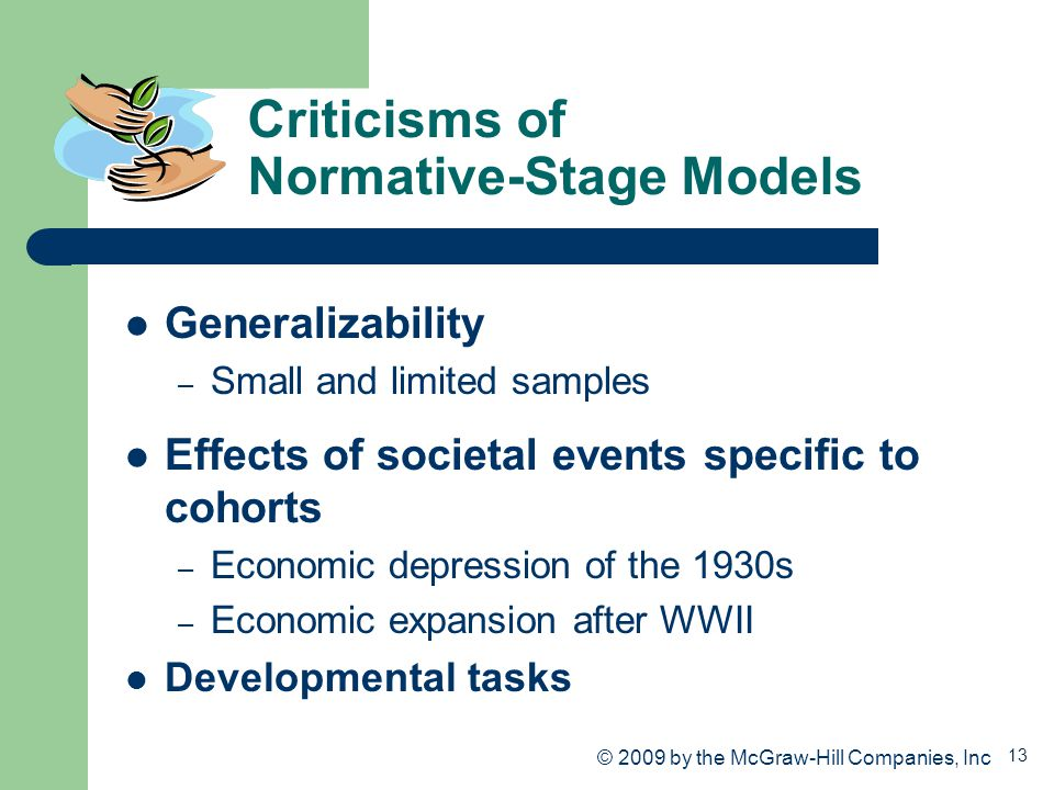 Criticisms of Normative-Stage Models