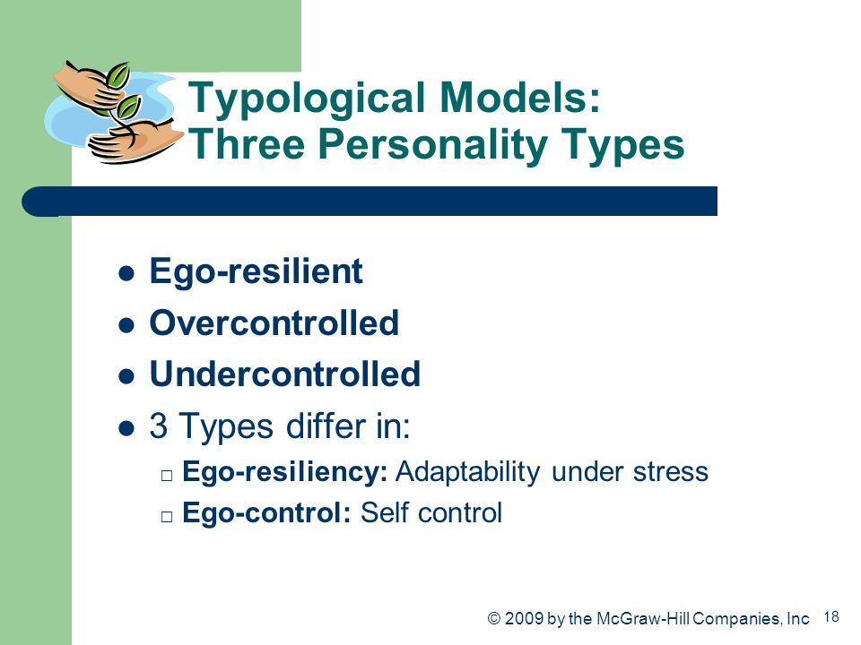 Typological Models: Three Personality Types