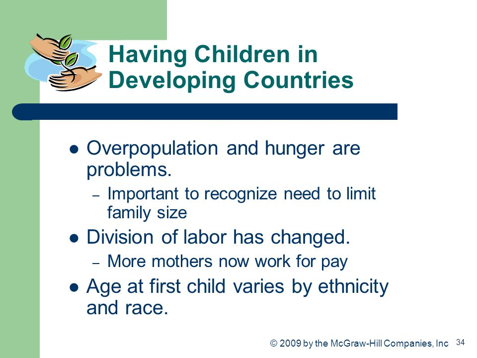 Having Children in Developing Countries