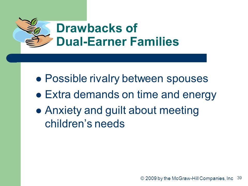 Drawbacks of Dual-Earner Families