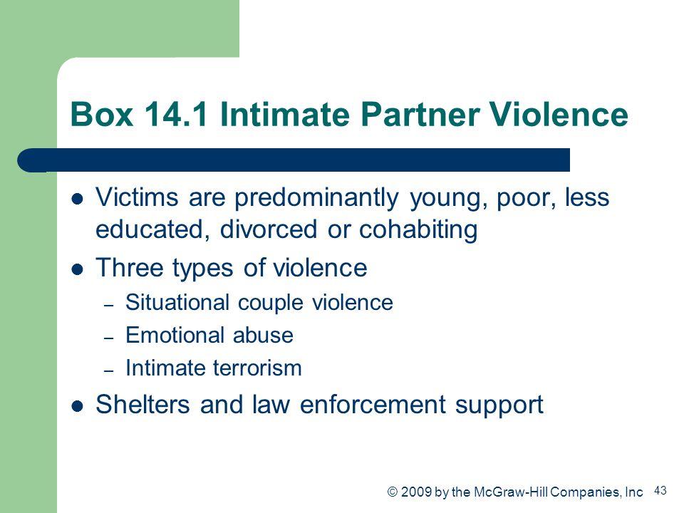 Box 14.1 Intimate Partner Violence