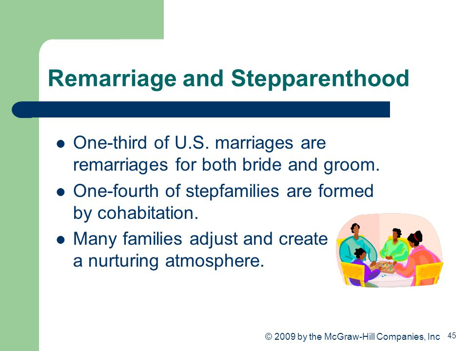 Remarriage and Stepparenthood