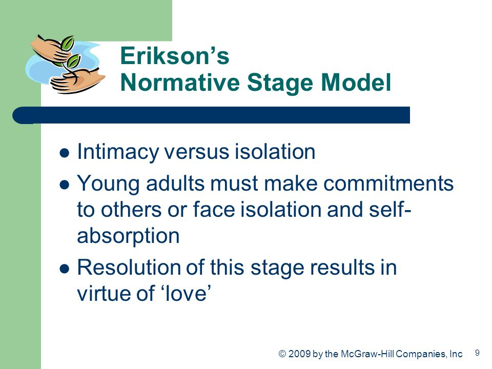 Erikson's Normative Stage Model