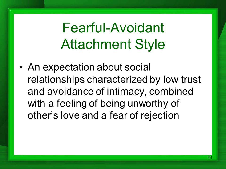 Fearful-Avoidant Attachment Style