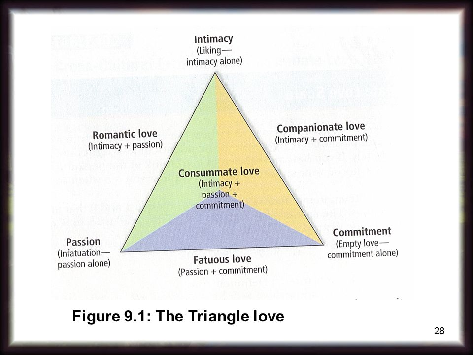 Figure 9.1: The Triangle love