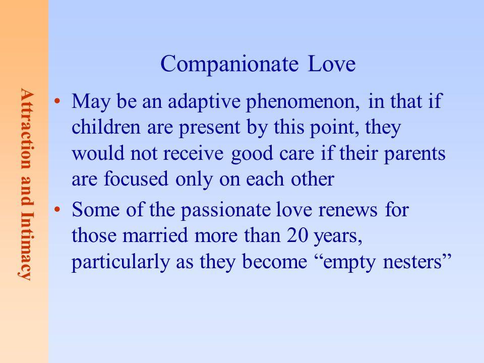 Companionate Love
