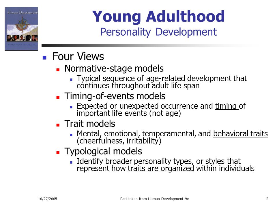 Adult developmental stages