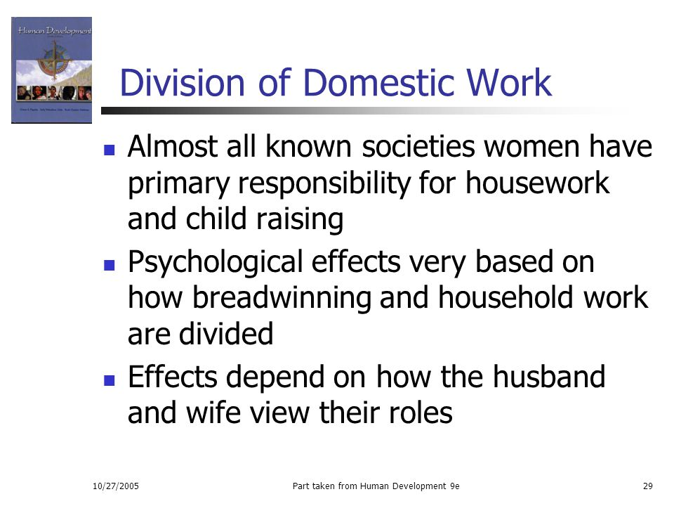 Division of Domestic Work
