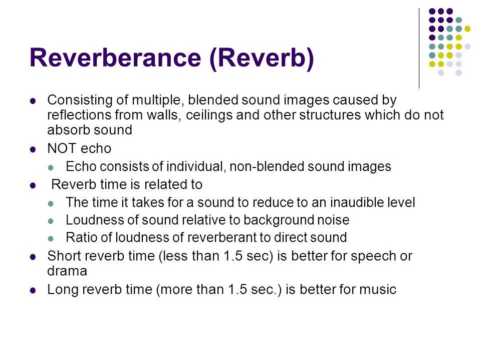 Reverberance (Reverb)