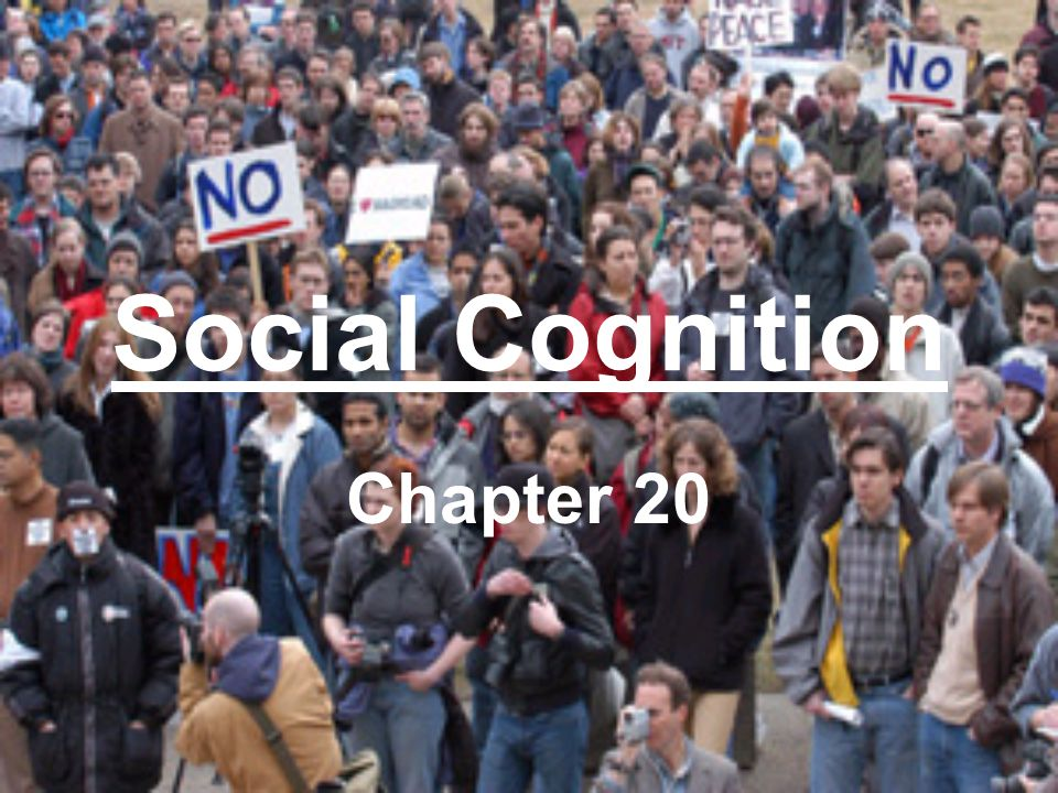 Social Cognition Chapter 20