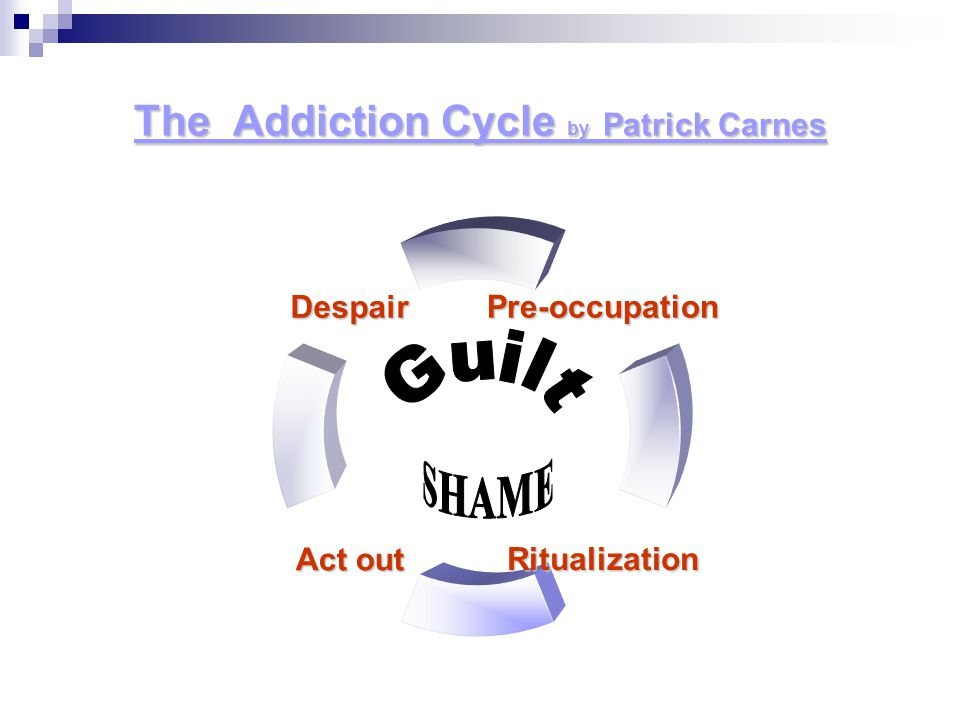 The Addiction Cycle by Patrick Carnes