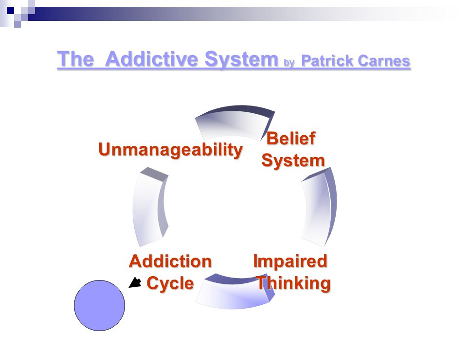 The Addictive System by Patrick Carnes
