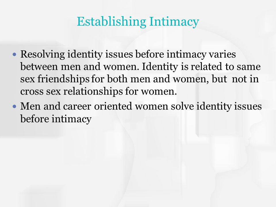 Establishing Intimacy