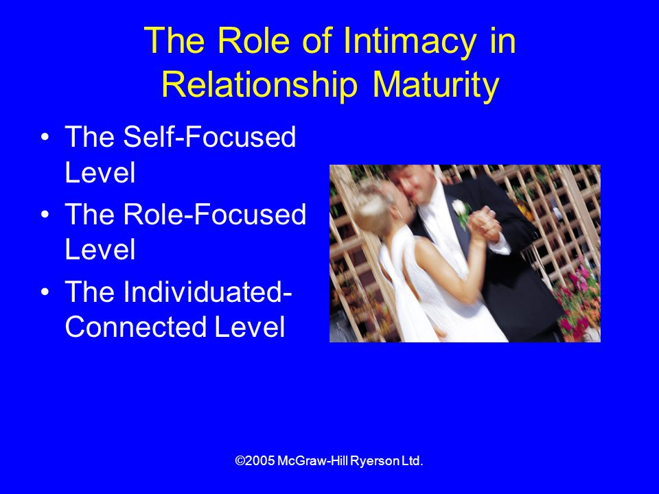 The Role of Intimacy in Relationship Maturity
